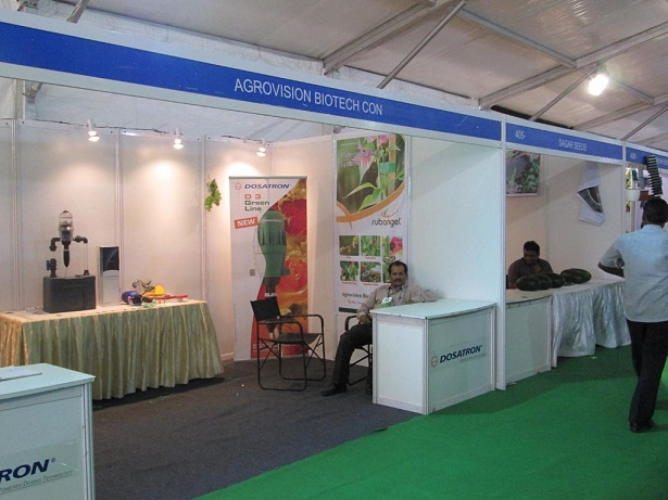 Exhibition Stall Fascia : Agriwisdom september participating in kisan day